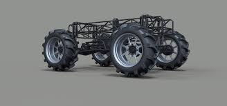 100 Mud Truck Pictures Chassis For 2 3D Model