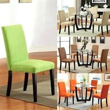 Dining Room Chairs With Arms Microfiber Parson Set Of 6
