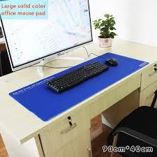 tapis de bureau personnalisé 900x400mm personnalisé bureau souris pad précision verrouillage bord