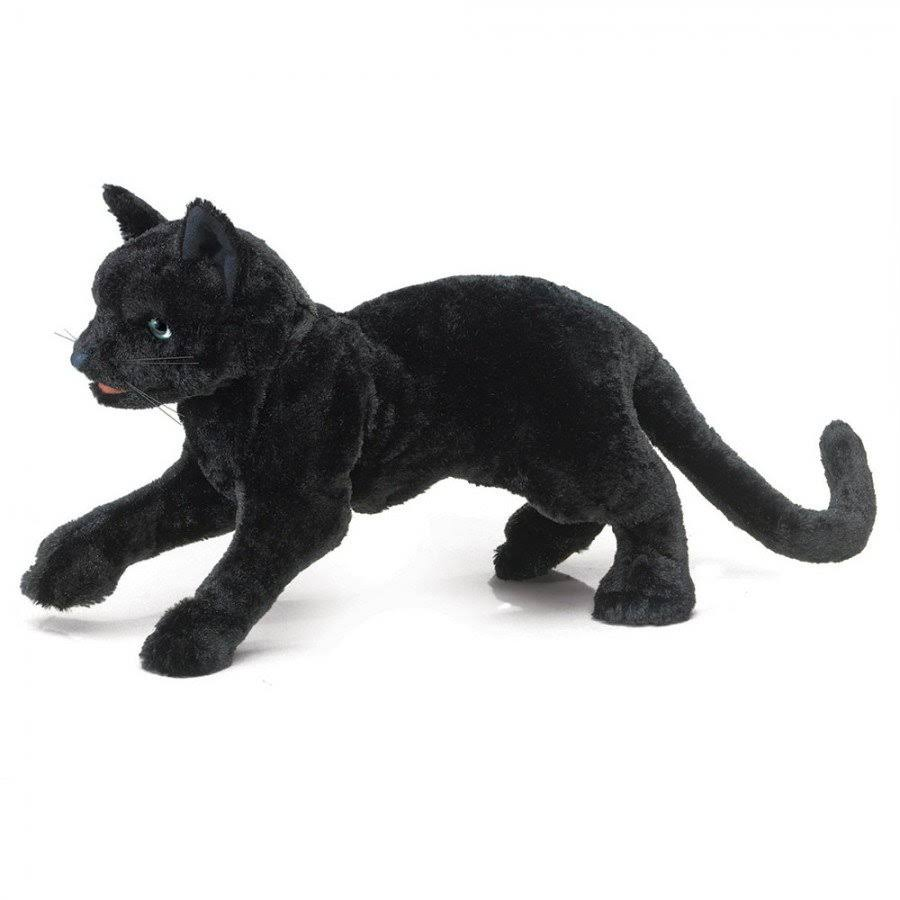 Folkmanis Hand Puppet - Black Cat