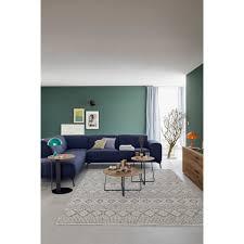 schöner wohnen kollektion teppich alva rechteckig 14 mm höhe hoch tief struktur wohnzimmer