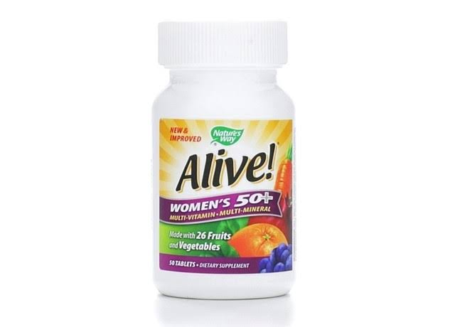 Nature's Way Alive! Women's 50+ Dietary Supplement - 50 Tablets