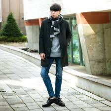 Korean Fashion Male Fallwinter Fall Winter
