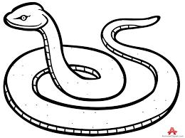 Snake Clip Art Black And White Outline Snake Clipart In Black And White Free Design Clipartpost
