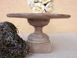 Image Of Rustic Wood Cake Stand Gallery