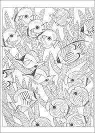 Nature Scapes Coloring Books