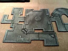 my modular cheap and quick to make dungeon tiles for d d
