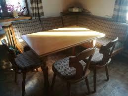 saulgrub eckbank küche esszimmer landhausstil mit stühlen tisch