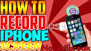 How To Screen Record iPhone iOS 9 9 3 2 NO Jailbreak iPhone iPad