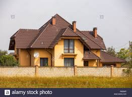 100 Modern Stucco House New Comfortable Twostoried Cottage With Steep Shingle Roof