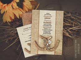 Horseshoes Wedding Invitations NEED WEDDING IDEA