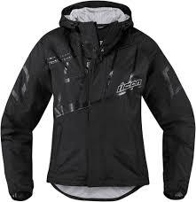 fast shipping icon pdx 2 womens waterproof motorcycle rain jacket