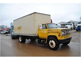 100 Chevy Box Truck 1987 GMC 7000 Cargo Van For Sale Auction Or Lease