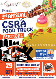 100 Trucks And More Augusta Ga CSRA Food Truck Fest On Twitter 3rd Annual CSRA Food Truck