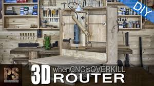 3d router when a cnc machine is overkill youtube