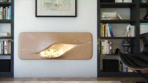 das futuristisch anmutende kamin design mvtikka nüvist
