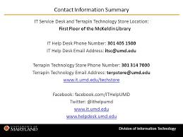 Umd Help Desk by Umd It Help Desk Ayresmarcus