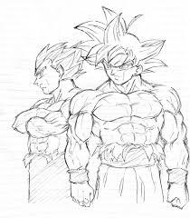 Drawing Black Goku Super Saiyan Rose GOD From Dragon Ball Super