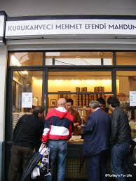 The Serving Hatch Of Istanbuls Kurukahveci Mehmet Efendi Coffee