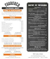 Foodshed Take Away Napa by Catering Foodshed Pizza U0026 Pasta Napa California House Made