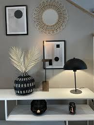 cardoo lioo vase deko dekoration esszimmer holz schwarz neu