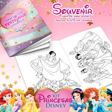 Kit Imprimible Princesas Disney Candy Bar Deco Cumple