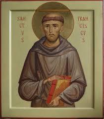 heilige franciscus assisi de anton en ekatarina
