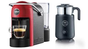 Selection Of Minu Espresso Makers Espria Plus Coffee And An Amazing Italian Machines Accessories From Lavazza To Bring