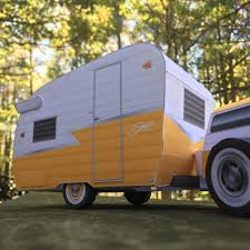 Tags Camper Campinglife Paper Model Retro Shasta Compact Vintage Posted In Add On Custom Models Papercraft