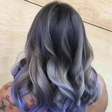 Awesome Модные серые волосы 50 фото Как подобрать оттенок под