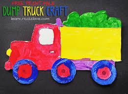 Printable Dump Truck Craft
