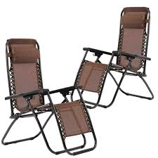 Factory Direct: Set Of 2 Zero Gravity Outdoor Patio Chairs - Brown |  Rakuten.com Camping Chairs Folding Recling Sco Padded Chair 14993ant4 Crafty Beaver Guide Gear Oversized Club Camp 500lb Capacity Rent Fruitwood Wivory Seat Best Lawn Reviews Which Of These 7 Will Premium 2 Thick Fabric By National Public Seating 3200 Series Top 10 2019 Boot Bomb Phi Villa Patio 3 Pc Set For Big Outdoor Ideas Home Decor By Coppercreekgroup Bag