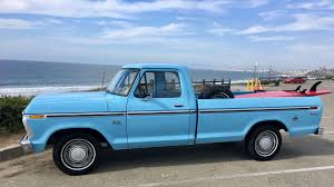 100 1974 Ford Truck F100 Dentside Is Ready To Surf Scom