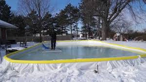 Three Tips For Keeping Your Backyard Rink Smooth All Winter Long ... Hockey Rink Boards Board Packages Backyard Walls Backyards Trendy Ice Using Plywood 90 Backyard Ice Rink Equipment And Yard Design For Village Boards Outdoor Fniture Design Ideas Rinks Homemade Outdoor Curling I Would Be All About Having How To Build A Bench 20 Or Less Amazing Sixtyfifth Avenue Skating Make A Todays Parent