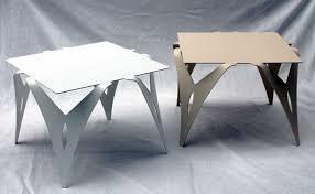 table de canapé bout de canapé table de chevet design moderne métal objectal