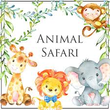 Have A Roaring Good Time With Our Animal Safari Baby Shower Games