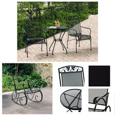 Amazon.com : Two-Seater 3-Piece Bistro Set & Porch Rocking ... Polywood Pws11bl Jefferson 3pc Rocker Set Black Mahogany Patio Wrought Iron Rocking Chair Touch To Zoom Outdoor Cu Woven Traditional That Features A Comfortable Curved Seat K147fmatw Tigerwood With Frame Recycled Plastic Pws11wh White Outdoor Resin Rocking Chairs Youll Love In 2019 Wayfair Wooden All Weather Porch Rockers Vermont Woods Studios