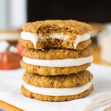 Libbys Soft Pumpkin Cookie Recipe by Pumpkin Oatmeal Creme Pies A Bajillian Recipes