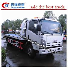 Japanese ISUZU Tow Truck 5ton,Japan Tow Truck For Sale,ISUZU Flatbed ...