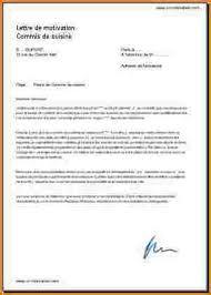exemple lettre de motivation cuisine 8 lettre de motivation commis de cuisine lettre de demission
