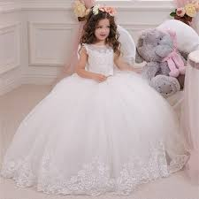 compare prices ivory silk flower girl dress shopping