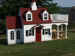 Photo Of Big Playhouse For Ideas by Childrens Custom Playhouses Diy Playhouse Plans Lilliput Home