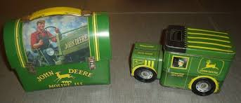 VTG JOHN DEERE Lunch Box And Snack Truck - $15.95 | PicClick