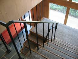Stairs Mid Century Modern - Google Search   Stairs/ Banisters ... Best 25 Wrought Iron Stair Railing Ideas On Pinterest Iron Custom Railings And Handrails Custmadecom A Vintage Pair Of Very Large French Mahogany Finials Newel Post 112 Best Stairs Ideas Tutorials Images Our 1970s House Makeover Part 6 The Hardwood Entryway Pin By O John Znewell Post Caps Cap Tips For Pating Stair Balusters Paint Stairs Banisters Metal Banister Spindles Double Basket Michelle Paige Blogs Before After Of A Banister Door Knob Door Handle Boutique Kings Road Ldon Uk