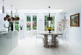 London French Door Hardware Dining Room Contemporary With Kartell