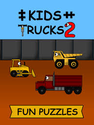 Kids Trucks: Puzzles 2 – More Animated Truck Puzzles For Toddlers ...