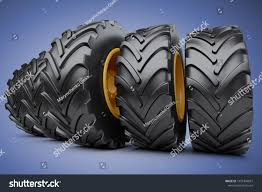 100 New Truck Tires Big Vehicle Car Stock Illustration Royalty Free