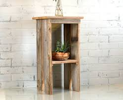 side table cedar side table plans default name diy wood side