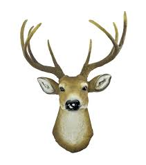Ebay Home Decorative Items by Wall Ideas Diy 3d Wooden Animal Deer Head Art Model Home Office