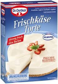 dr oetker frischkäse torte ohne backen 8er pack 8 x 350 g